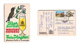 Sous-bock Bière Unique Hofbrauhaus Wolters, Timbre 1986 Beer Mat Bierdeckel Coaster - Sous-bocks