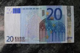 20 EURO L Finland G006G3 Trichet Finlande RARE - 20 Euro
