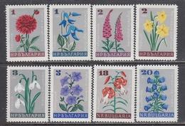 Bulgaria 1966 -Garden Flowers, Mi-Nr. 1683/90, MNH** - Bulgaria