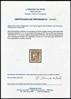 !■■■■■ds■■ Mozambique Postage Due 1916 AF#25(*) Local Ovrprt 50 Réis CERTIFICATED (x8695) - Mozambique