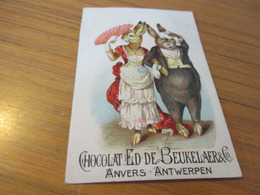 Chromo,Chocolat Ed De Beukelaer & Cie, Antwerpen - Chocolate