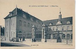 39, Jura, LONS LE SAUNIER, L'Hotel Dieu, Scan Recto-Verso - Lons Le Saunier