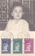 MAROC ,carte Maximum De 1956  (( Lot 479 )) - Morocco (1956-...)