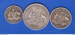 Australie  3  Pieces - Monnaie Pré-décimale (1910-1965)