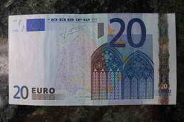 20 EURO L Finland P011G2 Trichet Finlande - EURO