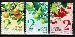 2014 Finland, Garden Fruits Complete Set Used. - Finlandia