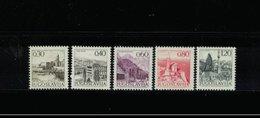 JUGOSLAWIEN , Yugoslavia , 1972 , ** , MNH , Postfrisch , Mi.Nr. 1480 I A X - 1484 I A X - 1945-1992 Sozialistische Föderative Republik Jugoslawien