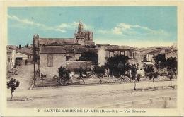 BOUCHES DU RHONE...LES SAINTES MARIES DE LA MER...VUE GENERALE... - Saintes Maries De La Mer