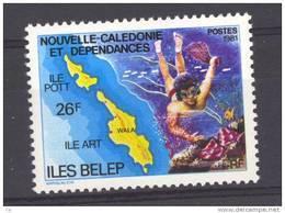 Nouvelle Calédonie  -  1981  :  Yv  445  ** - Nuevos