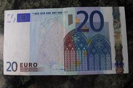 RRR 20 EURO S ITALIE TRICHET SERIE J017G3 Circulated VERY RARE - EURO