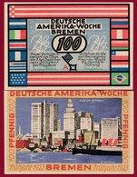 Allemagne 1 Notgeld 100 Pfenning Stadt  Bremen (RARE) Dans L 'état N °4684 BIS - Collections