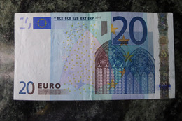 RRR VERY RARE 20 EURO X GERMANY R008A3 Trichet - EURO