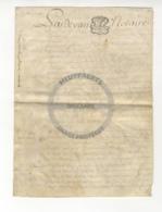 /!\ 1348 - Parchemin - 1780 - Commune De Luzarches (95) - Manoscritti