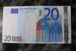 20 EURO Z BELGIUM SHORT CODE T002E3  RARE - 20 Euro