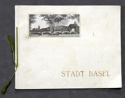 Stadt Basel Souvenir-Albums Edition Illustrato - Anni '10 - Album Vedute Basilea - Bücher, Zeitschriften, Comics