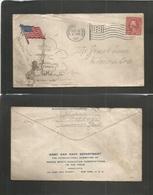 USA - XX. 1917 (31 Oct) Walt Disney. Mickey Mouse WWI Soldiers Letter Vancouver, Wash State - Elmira, Oregon 2c Patrioti - Etats-Unis