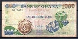329-Ghana Billet De 1000 Cedis 1991 A5 - Ghana