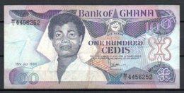329-Ghana Billet De 100 Cedis 1986 MI445 - Ghana