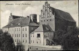 Cp Olsztyn Allenstein Ostpreußen, Schloss, Vorderbau - Ostpreussen