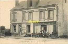 45 Cercottes, Le Café De L'Espérance, Belle Animation à La Terrasse - France
