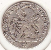 Belgique 1 Escalin 1750 Lion Bruges, Maria Theresa, En Argent, KM# 4 - Belgique