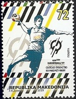 MK 2019-01 WORLD CHAMPIONSHIP IN HANDBALL, 1 X 1v, MNH - Mazedonien