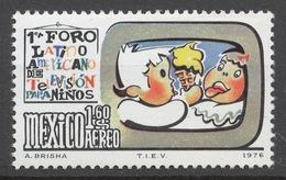Mexico 1976 Mi# 1533** LATIN-AMERICAN FORUM ON CHILDREN'S TELEVISION - Messico