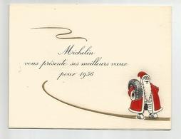 MICHELIN -  Meilleurs Voeux Année 1956 - Nouvel An
