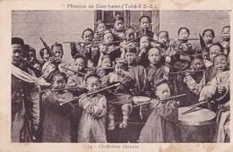 MISSION DE SIEN HSIEN.        ORCHESTRE CHINOIS - Chine