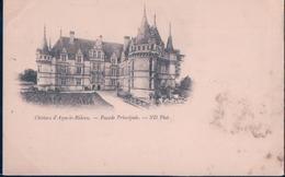 POSTAL FRANCIA - CHATEAU D'AZAY LE RIDEAU - FACADE PRINCIPALE - ND - Azay-le-Rideau