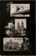 St. Gallen - 3 Bilder (13022) * 26. 7. 1907 - SG St. Gallen