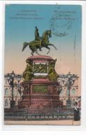 CPA - RUSSIA -  Saint Petersbourg :  Place Maria : Monument De Nicolas I- Edition  . - 1914 - Russia