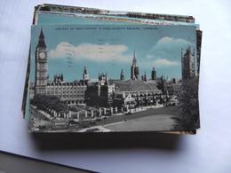 Engeland England London Houses Of Parliament And Square - Houses Of Parliament