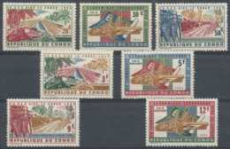 NB - [301715]TB//-Congo République 1963, N° 507/13, La CEE Aide Le Congo, SC - Repubblica Del Congo (1960-64)