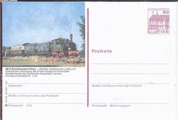AK-div.26- 208   -   Bildpostkarte  Bruchhausen Vilsen - Historischer Dampfzug Der Ersten Museums Eisenbahn - Cartoline Illustrate - Nuovi