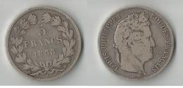 FRANCE 5 FRANCS 1833 W ARGENT - France