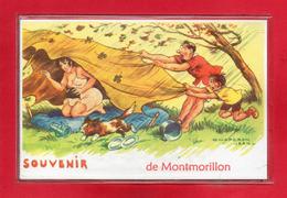 86-CPSM MONTMORILLON - Montmorillon
