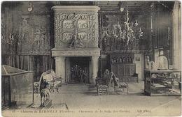 29 Chateau De  Keriolet  Cheminee De La Salle Des Gardes - Frankrijk