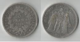 FRANCE 5 FRANCS 1848 BB ARGENT - J. 5 Francs