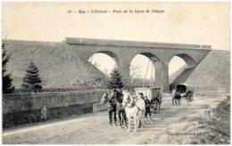 76 EU - L'entrée - Pont De La Ligne De Dieppe - Eu