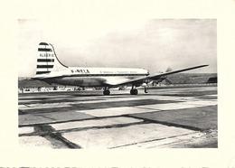 13 - MARIGNANE - Un Courrier Sur La Piste D'envol - Cie Generale Et Transports Aeriens - ALGERIE - Theme Avion - Marignane