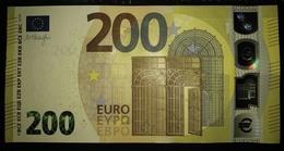 200 EURO S004D1 Italy Serie SE Ch01 Draghi Perfect UNC - EURO