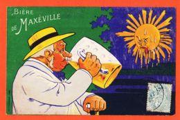 X54107 MAXEVILLE (54) Illustration Eugène OGE Pour BIERE De Brasserie Réunies Cppub 1910s à IMART Paris-CHAMPENOIS - Maxeville