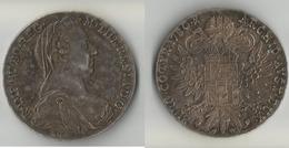 AUTRICHE 1 THALER  1780 ARGENT - Autriche