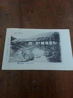 Cartolina Postale 1901, Val Sabbia,  Bagolino Ponte Selva - Brescia