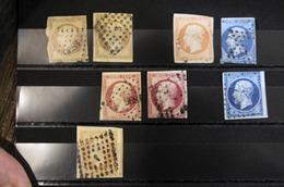 04/09/19-lot De Classique Marges Courtes Ou Filet Touchés,bonne Cote - 1853-1860 Napoléon III.