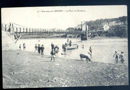 Cpa 56 Environs De Lorient -- Le Pont De Kermélo  JM16 - Lorient