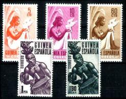 Guinea Española Nº 325/29 En Nuevo - Guinea Espagnole