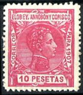 Elobey Nº 50 Con Charnela - Elobey, Annobon & Corisco