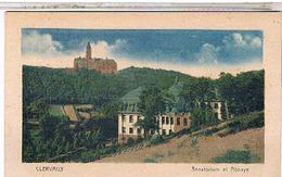 LUXEMBOURG Clervaux Sanatorium Et Abbaye  1936  Lu36 - Clervaux